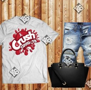 Crush Covid-19 Tee